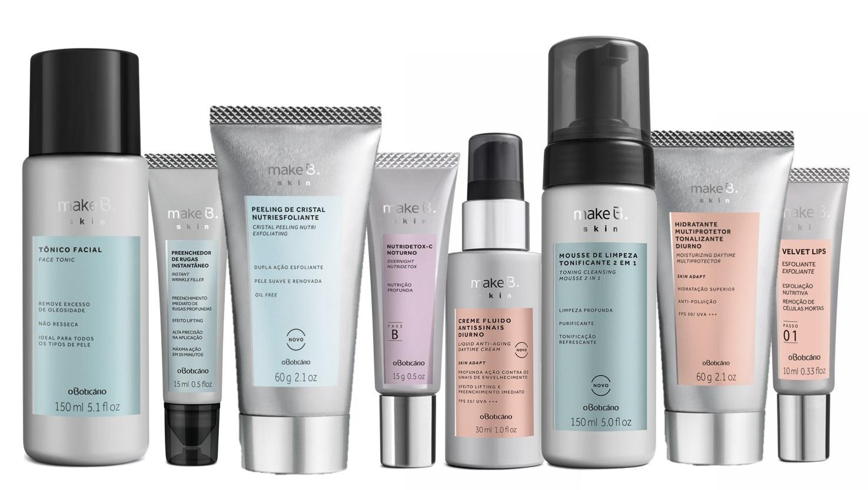 9fda8b1fe Make B. Skin é a nova linha de cuidados faciais do Boticário