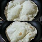 Pizza grelhada na frigideira - fininha e crocante!!!
