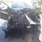 Piloto de moto potente morre em VG; motorista bate em carro da perícia