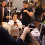 Bruna Hamú realiza chá de cabelo no Spa Deia e Renata
