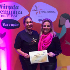 1ª dama participa em SP de evento de expressão nacional voltado ao empoderamento feminino