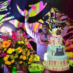 Márcio Victor comemorou aniversário