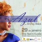 AZUL por Shirley Black - Cultura por Gilda Portella