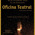 Workshop -Oficina Teatral 08 de FEVEREIRO às 08:00 - Gilda Portella