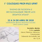 Colóquio PROF-FILO UFMT