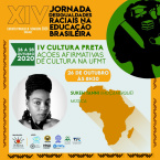 inscrições e Programação da  XIV JORNADA DESIGUALDADES RACIAIS NA EDUCAÇÃO BRASILEIRA