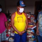 Campanha leva ajuda a mais de mil famílias  atingidas pelo fogo em MT