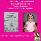 Janete Manacá  Lançará 5 Livros na Casa das Pretas 11 Dezembro 19 h