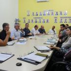 REUNIÃO DE DIRETORIA DISCUTE FUNCIONAMENTO DO 2º DISTRITO INDUSTRIAL E ORGANIZAÇÃO DO SOLO PÚBLICO