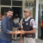ENTIDADES EMPRESARIAIS FAZEM DOAÇÃO PARA A POLÍCIA MILITAR DE SANTO ANTÔNIO DE JESUS