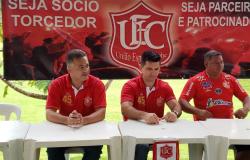 União apresenta comissão técnica e Éder Junior para a temporada