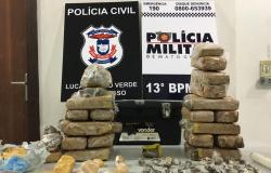 Ações integradas combate tráfico de drogas e prendem foragidos em Lucas do Rio Verde