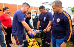 Equipe do Samu participa de curso sobre atendimento pré-hospitalar