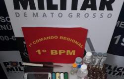 PM fecha fábrica de drogas em boca de fumo no bairro Lixeira