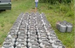 Polícias Civil e Militar recuperam carga de botijões roubada em Várzea Grande