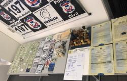 Polícia Civil fecha laboratório e apreende farta documentação usada em crimes na região Araguaia
