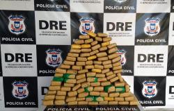 Mais de 300 quilos de drogas e 28 veículos apreendidos com 80 traficantes