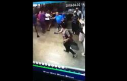 Vídeo mostra pânico e correria de clientes durante roubo a lotérica em MT