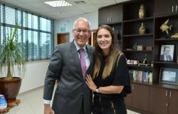 Janaina Riva debate ações para Mato Grosso com embaixador da Alemanha