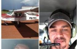 Aeronave de MT desaparece e esposa registra sumiço de marido