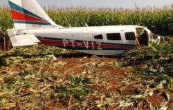 Avião cai em MT; empresário e piloto ficam feridos