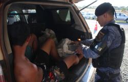Policiais da Rotam apreendem 23 kg de maconha em Cuiabá