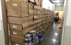 Polícia Civil recupera caixas de cigarros, energéticos e suplementos roubados de empresa de VG