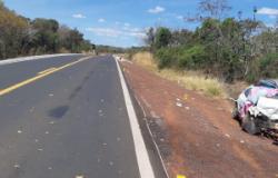 Acidente após ultrapassagem forçada mata 3 em rodovia de MT