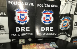 Traficantes alvos de várias denúncias são presos no bairro Água Vermelha em Várzea Grande
