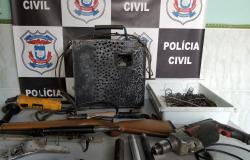 Polícia Civil fecha fábrica de armas artesanais em Nova Xavantina