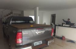 Hilux de secretário é achada em desmanche em Cuiabá