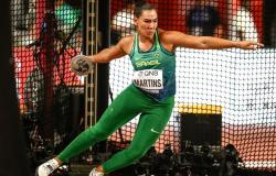 Brasileira se classifica para final no Mundial de Atletismo de Doha