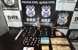 Polícia Civil autua suspeito por tráfico de drogas no CPA