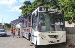 MT Hemocentro divulga calendário de novembro para coletas de doação de sangue