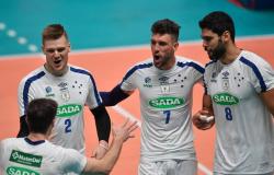 Vôlei: Cruzeiro estreia com vitória no Mundial de Clubes masculino