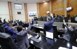 Assembléia aprova em primeira votação a reforma da previdência