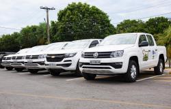 Veículos novos serão utilizados na regularização fundiária do interior