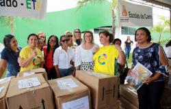 Várzea Grande abre o ano letivo com entrega de 110 mil uniformes e 80% das unidades escolares recuperadas
