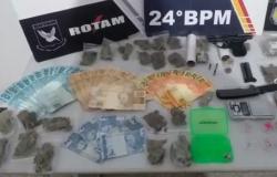 Homem aliciado por organização criminosa é detido por tráfico de droga no bairro Coophamil