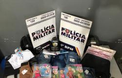Mulheres são presas furtando produtos de quatro lojas em shopping