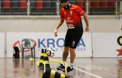 De volta aos treinos, times aguardam início da Liga Nacional de Futsal