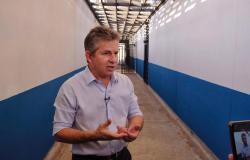 Governador inaugura penitenciária com 1008 vagas em Várzea grande