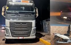 PM recupera uma carreta, um carro e duas motocicletas em Rondonópolis e Cuiabá