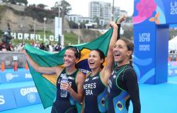 Triatleta Vittoria Lopes volta a competir após parada de quase um ano