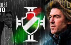 Vasco anuncia português Ricardo Sá Pinto como novo treinador do time
