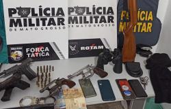 ROTAM prende policiais que planejavam assalto em Cuiabá