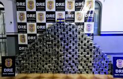 Polícia Civil apreende 450 tabletes de cocaína transportada em carga de milho