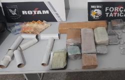 Rotam prende 3 e apreende arma e droga durante operação em Cuiabá e Várzea Grande