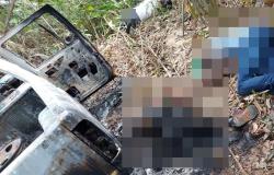 Quatro corpos são encontrados com sinais de execução próximo de Aripuanã, um deles foi carbonizado