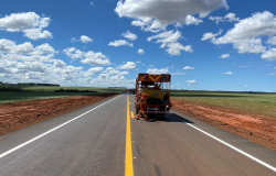 Governo conclui pavimentação de 26,7 km da MT-110